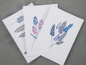 Пополнение ассортимента (открытки). Ярмарка Мастеров - ручная работа, handmade.
