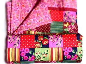 Новогодние скидки на готовые лоскутные одеяла — 20%. Ярмарка Мастеров - ручная работа, handmade.