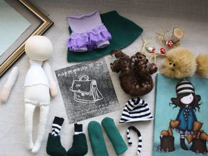 Видео мастер-класс: шьем одежду для куклы. Ярмарка Мастеров - ручная работа, handmade.