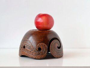 Клубочница-фруктовница для Главной   Ярмарка Мастеров - ручная работа, handmade