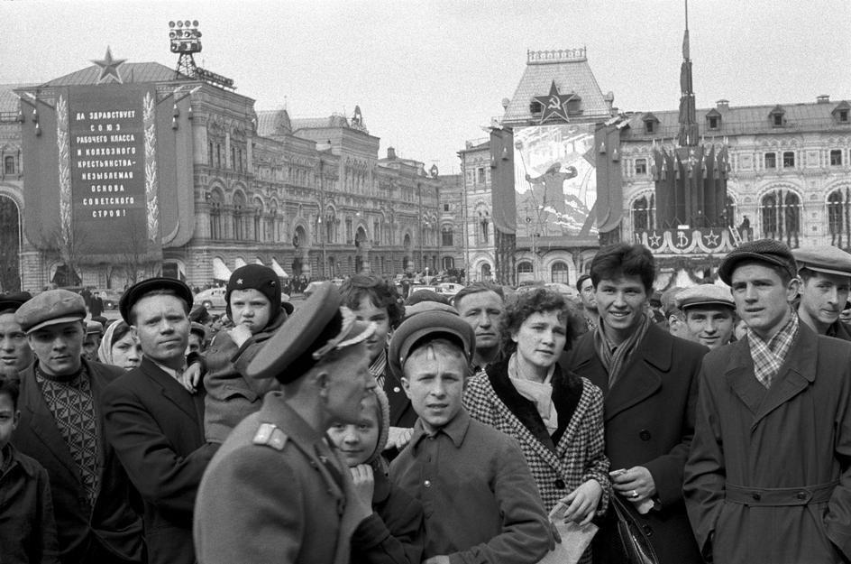 Lessing38 Москва 1958 года в фотографиях Эриха Лессинга