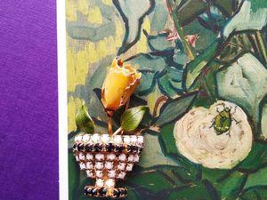 Случайная чайная роза. Ярмарка Мастеров - ручная работа, handmade.