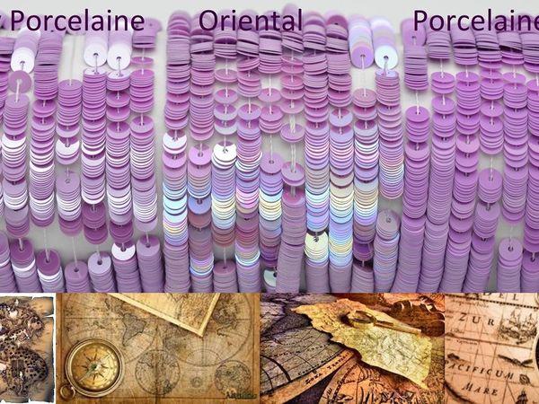 Путеводитель по номерам и цветам пайеток Langlois-Martin | Ярмарка Мастеров - ручная работа, handmade