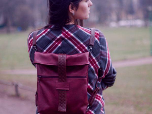Мастер-класс по пошиву кожаного рюкзачка. | Ярмарка Мастеров - ручная работа, handmade