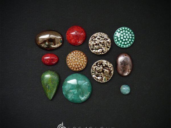 Наборы кабошонов | Ярмарка Мастеров - ручная работа, handmade