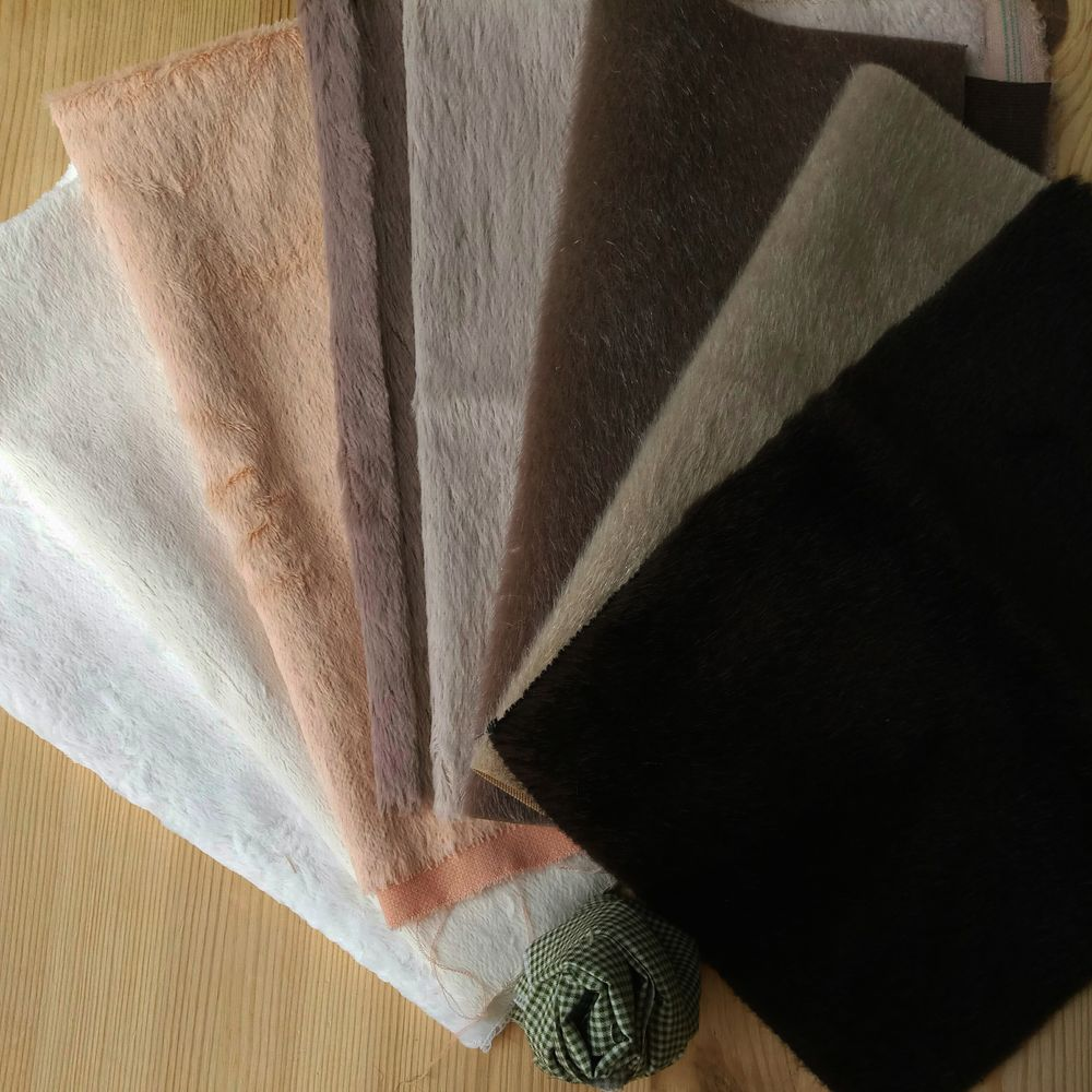 материалы для мишек, тедди, ткани