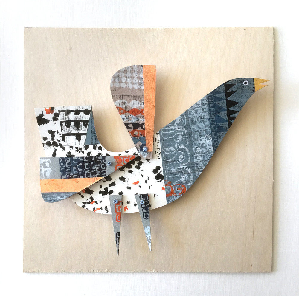 Cheerful Animals of Paper and Fabric by the Designer Clare Youngs, фото № 10