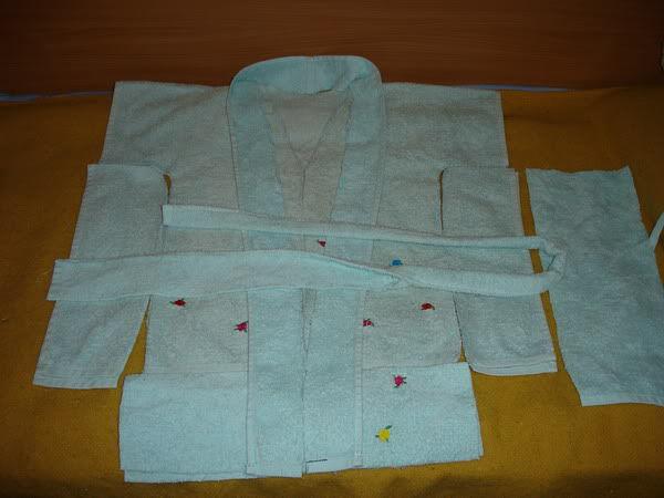 Сшить банный халат своими руками ребенку