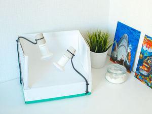 Создание бюджетного лайтбокса для фотосъемки изделий. Ярмарка Мастеров - ручная работа, handmade.