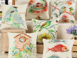 Декоративные подушки. Ярмарка Мастеров - ручная работа, handmade.
