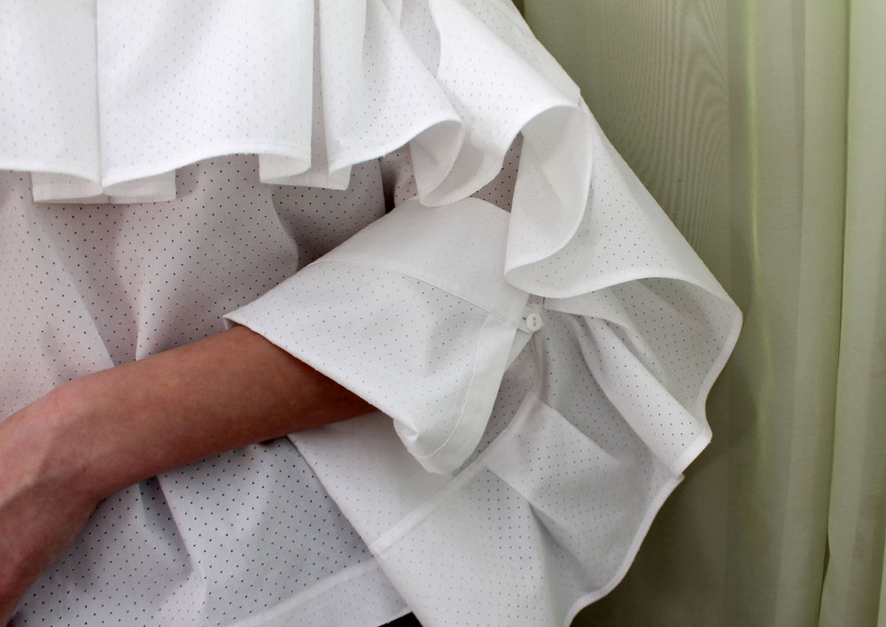 белая рубашка женска