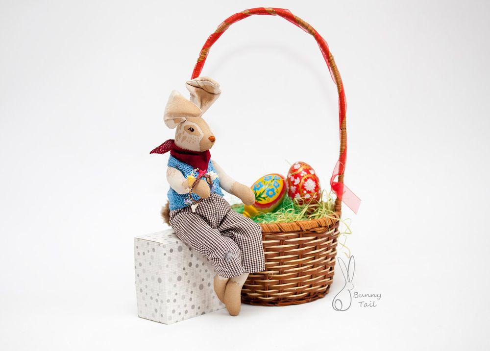 пасха, поздравляю, кролик, весна, праздник