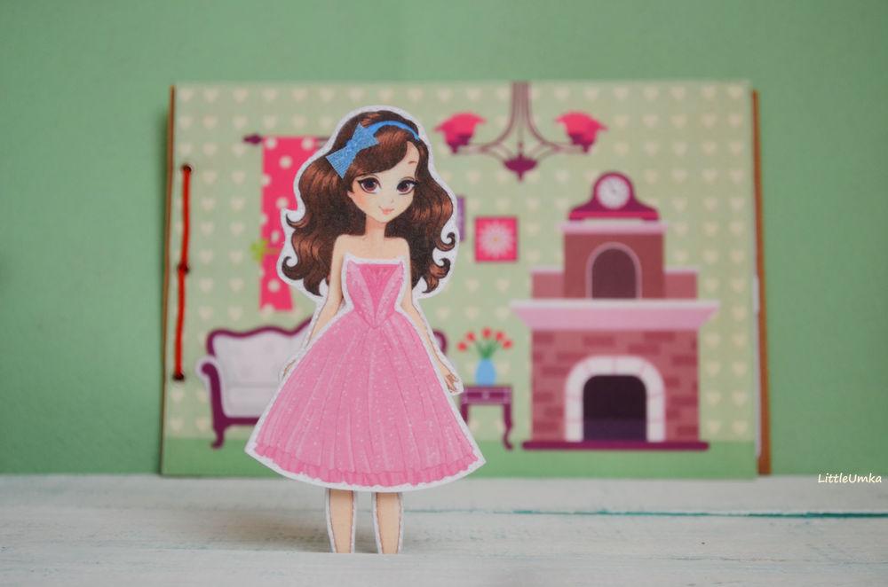 кукла из фетра с домик