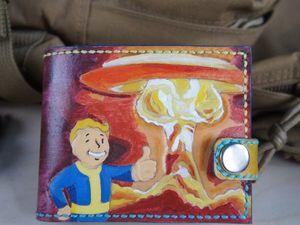 Изготавливаем кошелёк из натуральной кожи растительного дубления с тиснением. Ярмарка Мастеров - ручная работа, handmade.