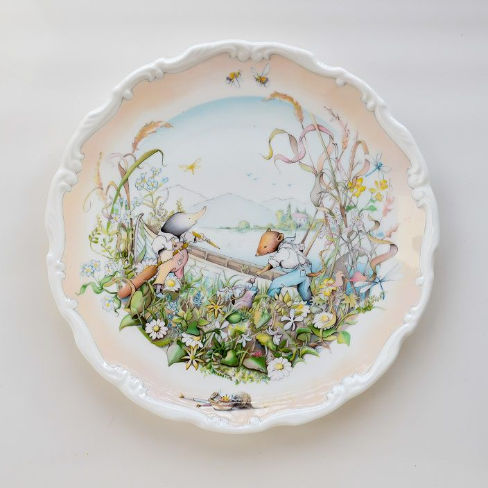 тарелка в подарок, royal dolton