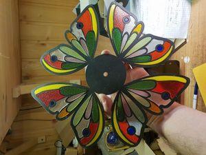 Часы Крылья бабочки. Ярмарка Мастеров - ручная работа, handmade.