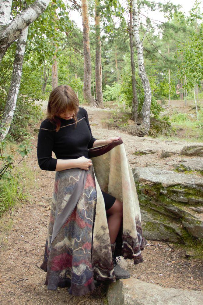 красивая юбка, юбка тёплая