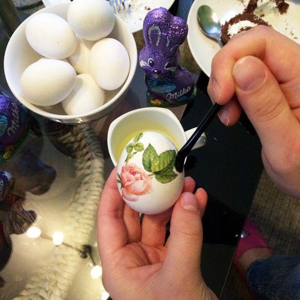пасхальные яйца, скидки, декупаж