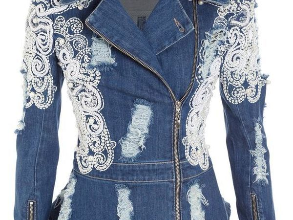 Creative Ideas of Classic and Original Denim Jackets | Livemaster - handmade