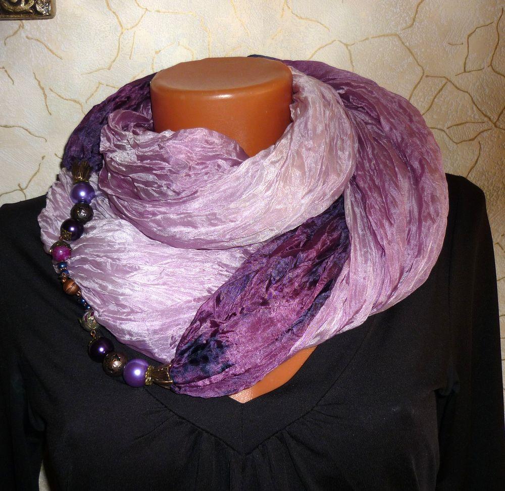 распродажа, батик шарф