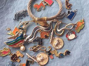 """Аукцион винтажных украшений """"Знаки зодиака"""" и ещё кое-что! ). Ярмарка Мастеров - ручная работа, handmade."""