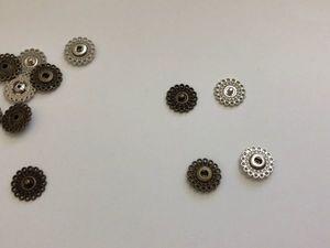 Декоративная кнопка, пришивная 2,1 см. Ярмарка Мастеров - ручная работа, handmade.