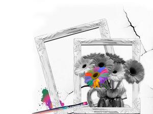 фото картина Цветное настроение. Ярмарка Мастеров - ручная работа, handmade.