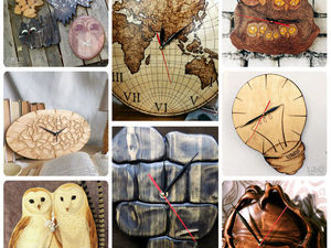 Ретроспектива часов от VZBRELO. Ярмарка Мастеров - ручная работа, handmade.
