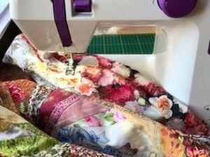 Шьем лоскутное одеяло из блоков крейзи. Часть 4. Ярмарка Мастеров - ручная работа, handmade.