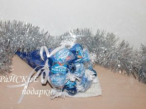 Мастерим кулёчек новогодний. Ярмарка Мастеров - ручная работа, handmade.