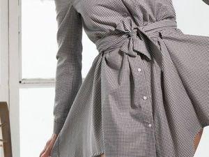 Cкидка -50% на модели платьев-рубашек до 03.12.18. Ярмарка Мастеров - ручная работа, handmade.