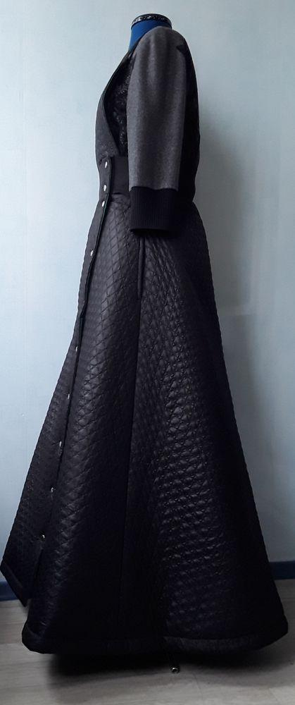 юбка из плащевки, юбка с лямками