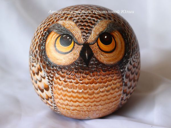 Подробный фотоотчет для Ольги, сова - неваляшка   Ярмарка Мастеров - ручная работа, handmade