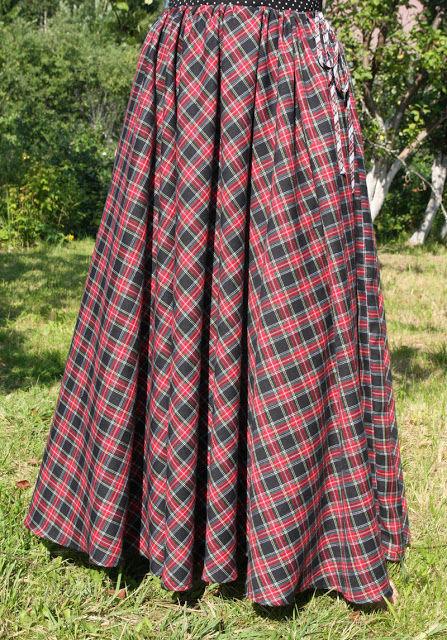 юбка в пол