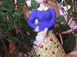 Spring Quadrille, or An Interior Doll from Salt Dough. Livemaster - handmade