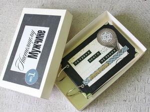 Чековая книга желаний  в кожаной обложке(Две книги в одном посту) | Ярмарка Мастеров - ручная работа, handmade