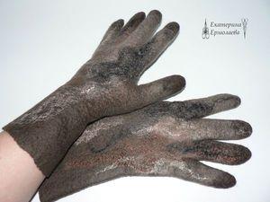 Шаблон для валяния перчаток. | Ярмарка Мастеров - ручная работа, handmade