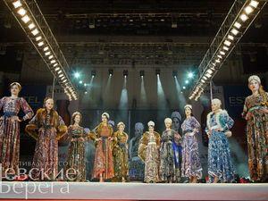 """""""Невские Берега"""" — показ в стиле А-ля Русс. Ярмарка Мастеров - ручная работа, handmade."""