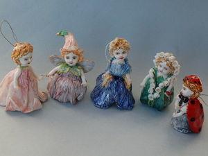 Цветочные феечки. Ярмарка Мастеров - ручная работа, handmade.