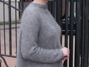 Новый-новый свитер из кид-мохера и кашемира с шелком! :). Ярмарка Мастеров - ручная работа, handmade.