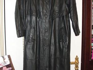 Успейте купить за 1700 рублей!!! АКЦИЯ на Пальто из натуральной кожи до 2019 года!!!. Ярмарка Мастеров - ручная работа, handmade.
