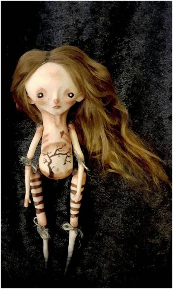 gothic art doll