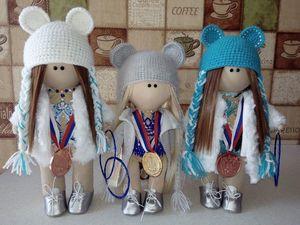 Интерьерная кукла талисман для гимнастки. Ярмарка Мастеров - ручная работа, handmade.