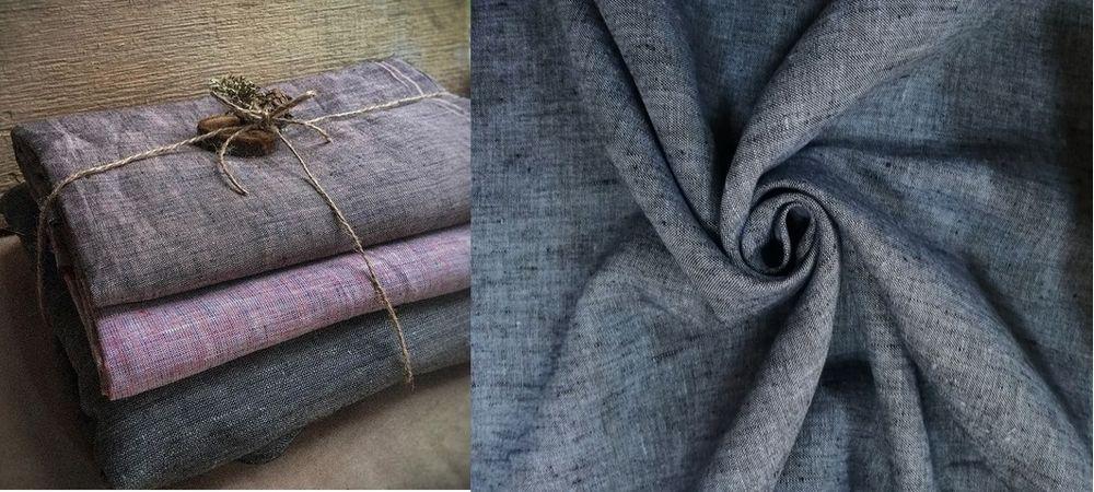 льняная одежда, русский стиль