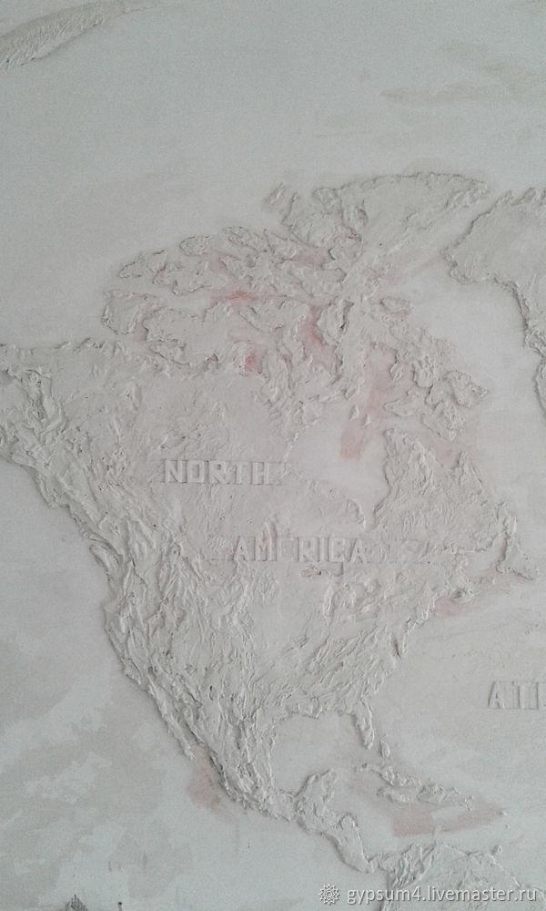 Изготавливаем барельеф «Карта», фото № 23