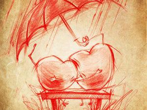 Зонтик вашей любви - 20 сердечных зонтов.. Ярмарка Мастеров - ручная работа, handmade.