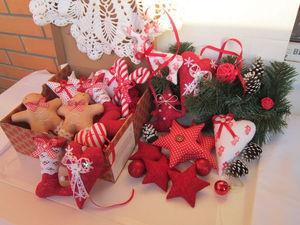 Акция! Гирлянда +Новогодние игрушки в подарок! | Ярмарка Мастеров - ручная работа, handmade