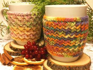 Тёплая чашка в подарок!. Ярмарка Мастеров - ручная работа, handmade.