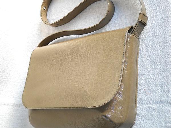 Курс по изготовлению сумок из кожи: сумка с ботаном и клапаном | Ярмарка Мастеров - ручная работа, handmade