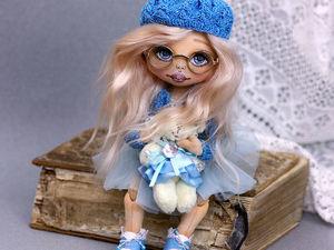Текстильная кукла. Одна из двойняшек. Новые фото текстильной куклы.. Ярмарка Мастеров - ручная работа, handmade.